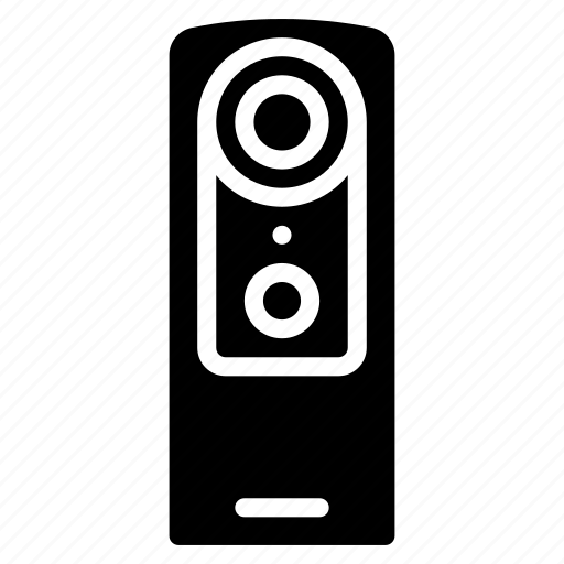 cam, camera, devices, solid, video icon