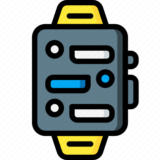 devices, messages, smart, ultra, watch icon