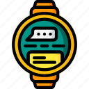 devices, message, smart, ultra, watch icon