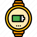 charge, devices, smart, ultra, watch icon