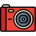 cam, camera, compact, devices, ultra icon