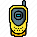 devices, radio, ultra, walkie talkie icon