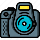 camera, devices, dslr, ultra icon