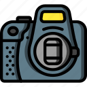 camera, cap, devices, dslr, lens, ultra icon
