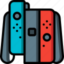 controller, devices, game, nintendo, right, switch, ultra icon
