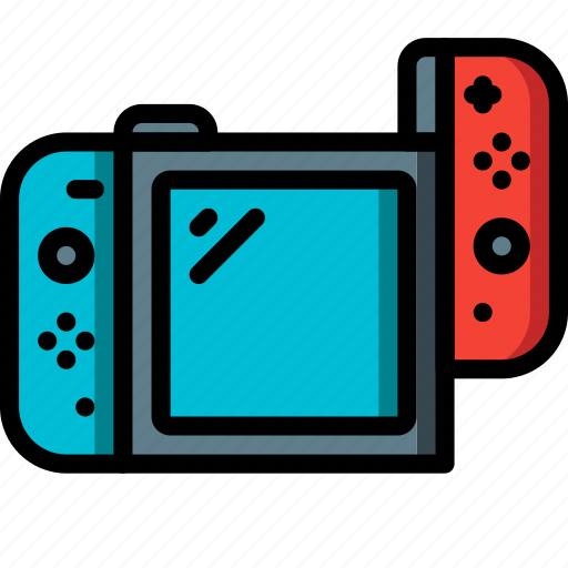 complete, devices, game, left, nintendo, switch, ultra icon