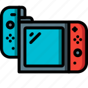 complete, devices, game, nintendo, right, switch, ultra icon