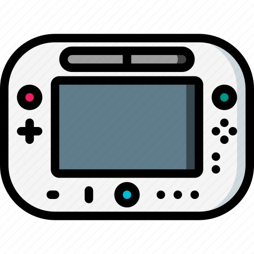 devices, nintendo, u, ultra, wii icon