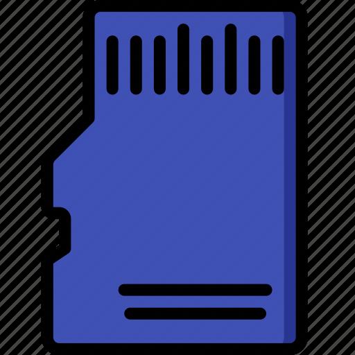 card, devices, memory, micro, sd, ultra icon