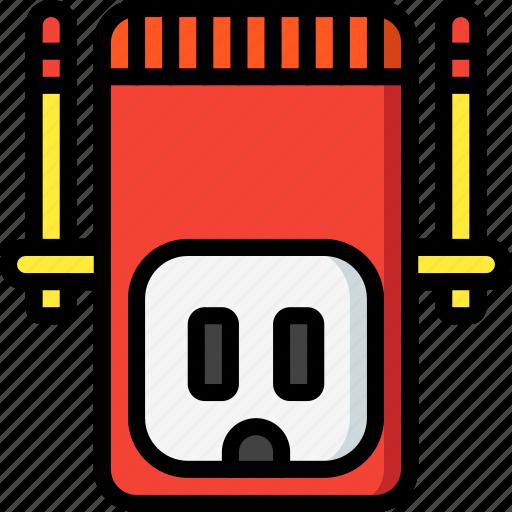 devices, plug, ultra, us, wifi icon