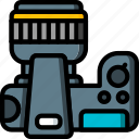 computer, devices, dslr, plan, ultra icon