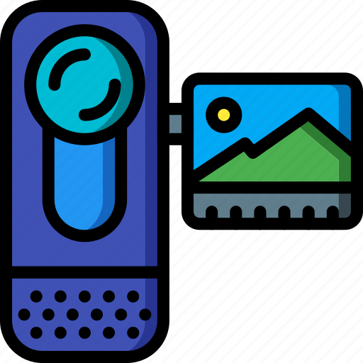 cam, camera, devices, handy, ultra, video icon