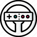 devices, nintendo, steering, ultra, wheel, wii icon
