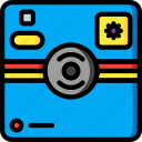 camera, devices, instant, polaroid, ultra icon