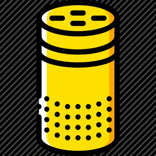 amazon, devices, echo, music, yellow icon