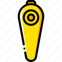 devices, game, nintendo, nunchuck, wii, yellow icon