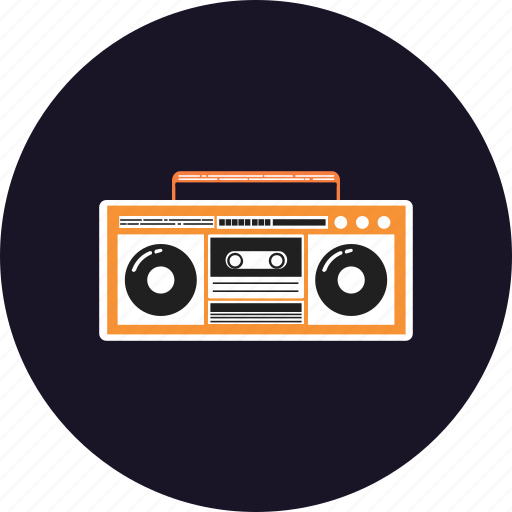 electrical, equipment, facilities, home, machine, music, radio icon
