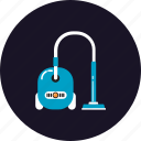cleaner, electrical, equipment, facilities, home, machine, vacuum icon