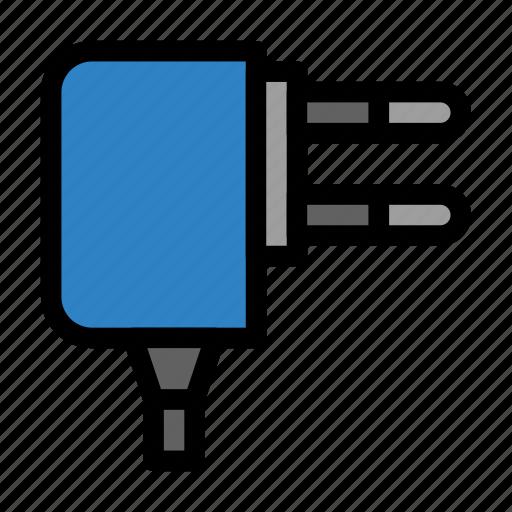 adaptor, converter, plug, power, supply icon