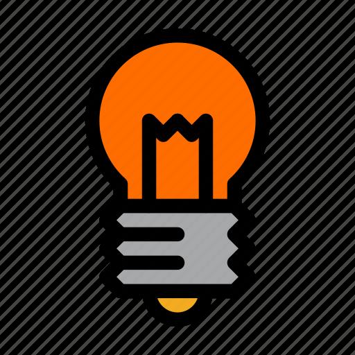 component, idea, lamp, light, toy icon