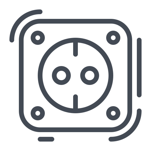 electric, electricity, energy, plug, power, powerpoint, socket icon