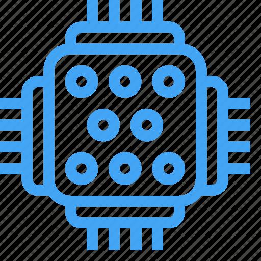 computer, electricity, electronics, energy, laptop, pc, processor icon
