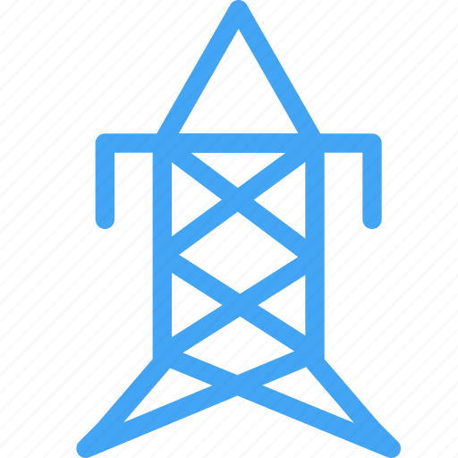 building, communication, construction, device, electricity, industry, technology icon