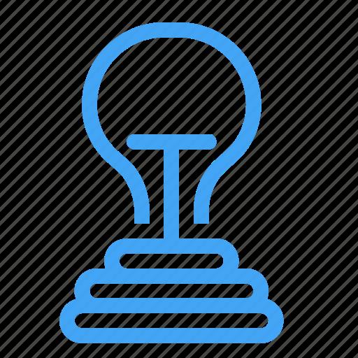 bulp, charge, creative, idea, lamp, light icon