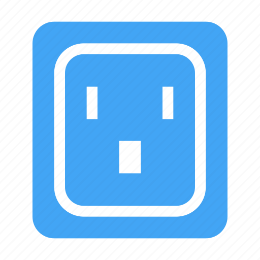 electric, electricity, energy, outlet, power, socket icon