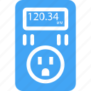 device, electric, electricity, electronics, monitor, power, usage icon