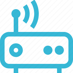 connection, internet, modem, network, signal, web, wifi icon