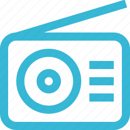 audio, music, play, radio, sound, speaker icon