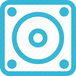 audio, media, multimedia, music, play, sound, speaker icon