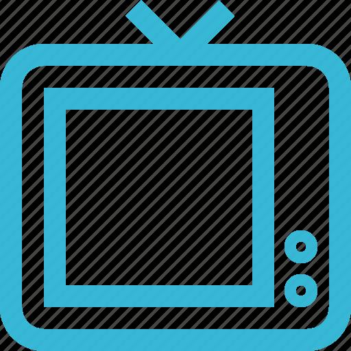film, movie, screen, television, tv, video icon
