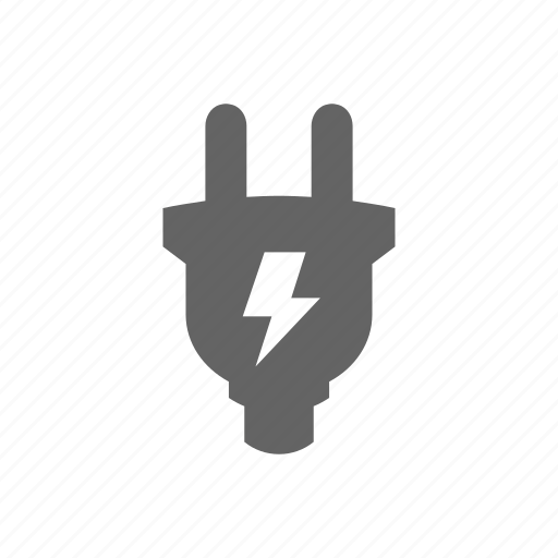 bolt, charge, electric, electrical, electricity, lightning, plug icon