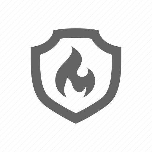 Fire, flame, protect, safe, secure, protection, safety icon - Download on Iconfinder