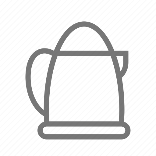boiling, coffee, electric, kettle, pot, steamer, tea icon