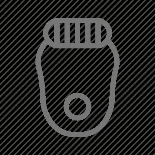 depilate, depilating, depilation, depilator, grooming, hair removal icon