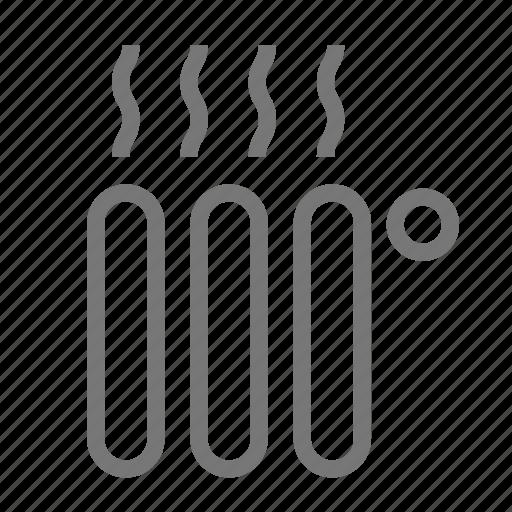convector, heat, heater, heating, radiator, warming icon