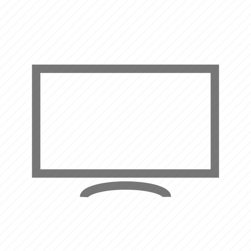 broadcasting, lcd, monitor, screen, television, telly, tv icon