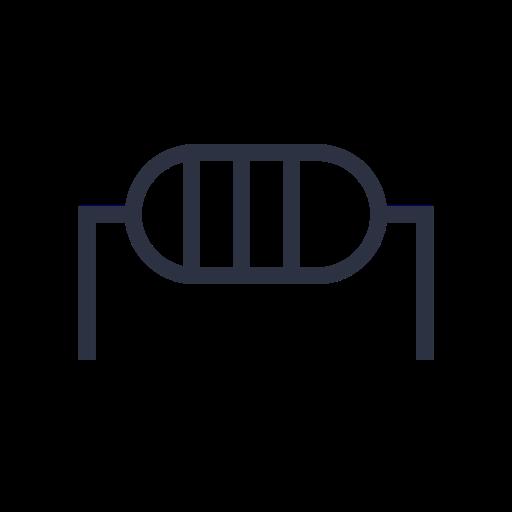 electronic, machine, side, transistor icon