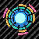 circular, equalizer, electronic, dance, music, digital