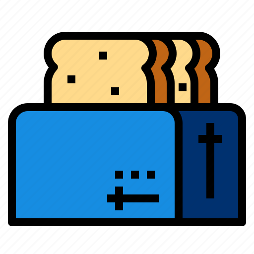 Bread, toast, toaster icon - Download on Iconfinder