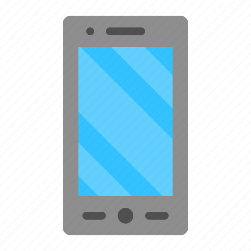 Cellphone, device, mobile, phone, smartphone, technology icon - Download on Iconfinder