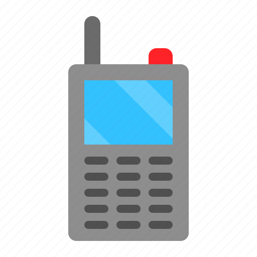 Cellphone, device, mobile, phone, technology, walkie-talkie icon - Download on Iconfinder