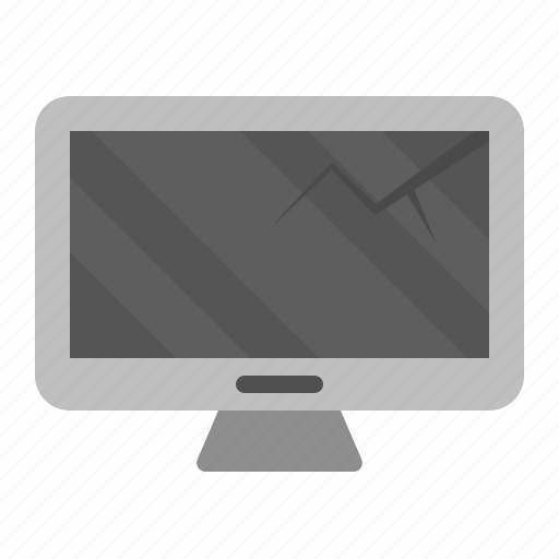 Computer monitor, device, display, monitor, screen, technology icon - Download on Iconfinder