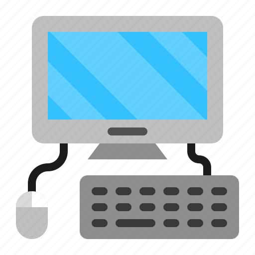 Computer, device, keyboard, mouse, personal, technology icon - Download on Iconfinder