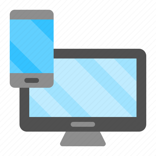 Computer, device, monitor, phone, smartphone, technology icon - Download on Iconfinder