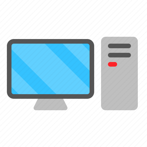 Case, computer, device, monitor, personal computer, technology icon - Download on Iconfinder