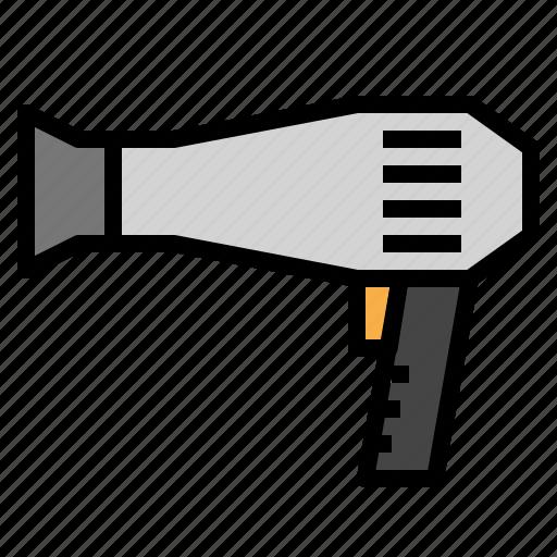 Blow, dryer, hair icon - Download on Iconfinder